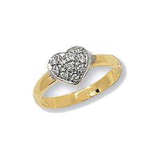 Ringe mit Edelsteinen im Siegelring-Stil aus Gelbgold für Geburtstage