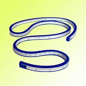 Flexibles biegsames Kurvenlineal 90 cm Biegelineal Lineal Flexibel