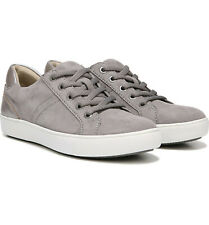 Naturalizer Women's Silver Colorblocked Suede Sneaker – Size 12W