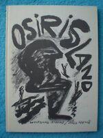 OSIRIS LAND Wolfgang JESCHKE 1986 limitiert signiert & nummeriert 389064502X RAR