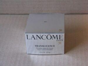 1 NIB L'Oreal LANCOME TRANSLUCENCE Silky Loose Powder 0.5 oz FULL SIZE #500