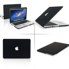 13 inch Macbook Pro Retina 2 in 1 Frost Black Hard Case Cover w/Keyboard Cover