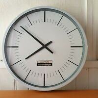 ANCIENNE Horloge industrielle - Compteur Schlumberger France
