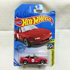 HOT WHEELS 91 Mazda MX-5 Miata Red 184/250 Long Card 1/64 Scale SEALED NEW