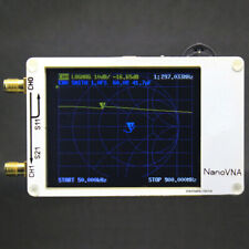 NanoVNA Vector Network analyzer HF VHF UHF Antenna Analyzer Standing Wave