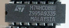 NOS ST  M74HC08BI  DIP14   Qty 1    Ships in USA Tomorrow!