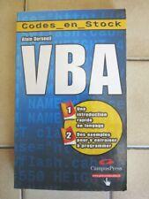 VBA - CampusPress - Codes en Stock