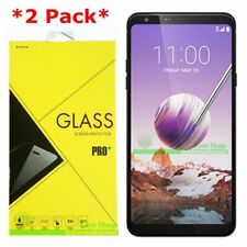2-Pack Premium Tempered Glass Screen Protector For LG Stylo 4