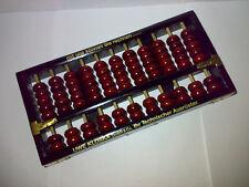 Abakus - Original aus China - Suan Pan * 80er 90er Werbe-Abakus * 25,7 x 12,8 cm