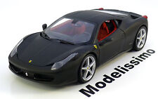 1:18 Hot Wheels Ferrari 458 Italia Coupe 2010 flatblack