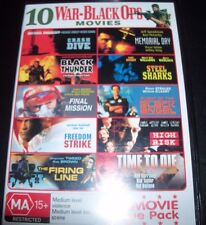 10 WAR - BLACK OPS MOVIES DVD – Black Thunder / Angel / Freedom Strike - New