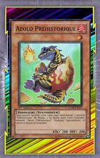 Aeolo Préhistorique HA04-FR017 Feu Dinosaure Syntoniseur Niveau 1 YGO
