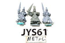 Warhammer High Elves Warriors Old Metal OOP - JYS61