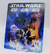 STAR WARS Sequel Trilogy GLOSSY Bluray Steelbook Magnet Cover (NOT LENTICULAR)