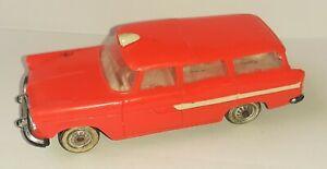 Voiture Miniature 1/43 Simca Marly Ambulance Rouge Norev Vintage B-15 no Corgi