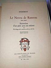 Livre chasse / Le neveu de Rameau,  Denis Diderot, 1959