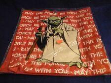 Vintage Star Wars Return of the Jedi Yoda Tote Bag Adam Joseph 1983  Sealed ROTJ