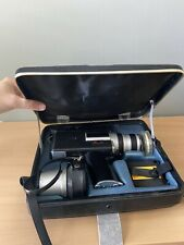 Canon Auto Zoom 518 SV Super 8 Movie Camera w/ Case Film Tested. MINT Extra Lens