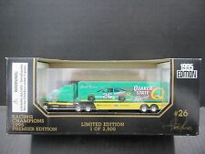 1995 Racing Champion Transport Steve Kinser Quaker State 1/87th Scale Nascar