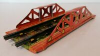 Mettoy - O Gauge - Tin Plate Railway Bridge