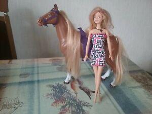 Barbie Pferd und Puppe Von Mattel