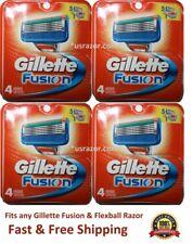 16 Gillette Fusion 5 Razor Blades Refills Cartridges Fit Flexball Shaver 4 8
