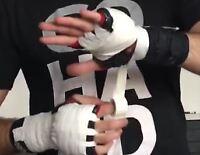 Yuzet 10m White Yuzet Zinc Oxide Boxing wrap tape boxer glove