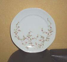 Mitterteich  1 Teller, rosa Blumendekor