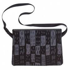 Rapha Black Printed Musette Bag. NEW