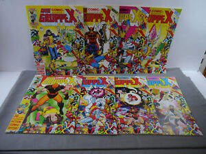 Die Gruppe X Comic Magazine Band 1-8 Complete Condor Z: 1 (MF10