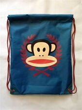 Paul Frank-Julius Monkey Crest nylon cordon de serrage Gym / Boot Sac-Bleu Marine Bleu