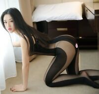 US Size XS S M L Sexy Lingerie Bodystocking Dress Club Wear Underwear Sleepwear