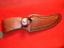 LEATHER SHEATH FOR SCHRADE OLD TIMER 152OT SHARP FINGER  hunting knife Nice !