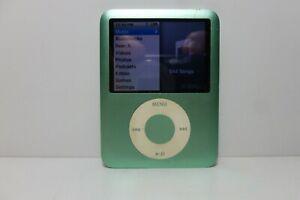 Apple iPod Nano 3rd Generation Light Green (8GB) Media MP3 Player Model A1236