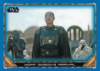 2020 Star Wars The Mandalorian Season 1 Base Blue #67 The Crew Assembled