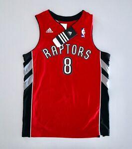 New CALDERON Toronto RAPTORS NBA 2011 Adidas Basketball Shirt YS Basket Jersey