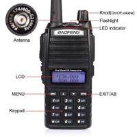 New Baofeng UV-82L VHF/UHF 136-174/400-520MHz Ham Two-way Radio Walkie Talkie KY