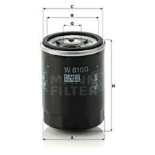 Mann Oil Filter Spin On For Chrysler Ypsilon 1.2