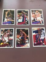 1994-95 Fleer Basketball Team Set: Detroit Pistons