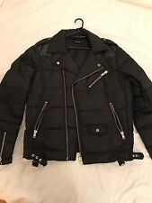 The Kooples Biker Puffer Jacket Small