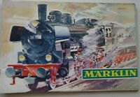 MARKLIN catalogue chemins de fer/voitures Ech Ho train Bon Etat 1967-68