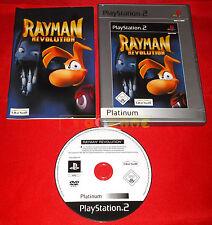 RAYMAN REVOLUTION Ps2 Versione Ufficiale Italiana Platinum ○○○ COMPLETO