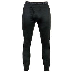 Omni Wool Men's Dual Layer Thermal Base Layer Pant Bottoms Grey or Black NEW