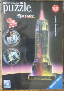 Puzzle Ravensburger 3 D Empire State Building Night Edition - Neuf sous blister