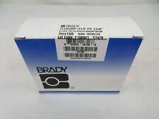 Brady Tls2200tls Pc Link Label Ribbon R4410b Blue Ribbon