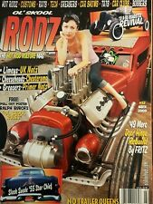 Ol Skool Rodz #32 March 2009 - NEW - Kustom Hot Rod Pin Up Custom car Rockabilly