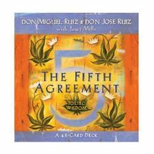 The Fifth Agreement: A 48-Card Deck, Plus Dear Friends Card by Don Miguel Ruiz (
