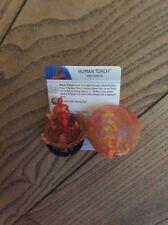Heroclix Marvel Human Torch #58 Super Rare set Capitán América