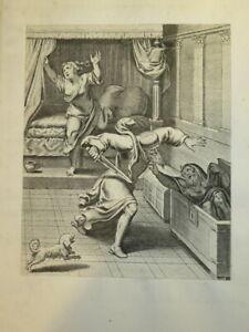 Otto VAN VEEN ( 1556 - 1629) GRAVURE XVII° MANIERISME MYTHOLOGIE FLANDRES 1607 j