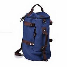 Hot Men Vintage Canvas Rucksack Laptop Shoulder Travel Hiking Camping Bag